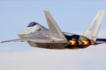 F-22 Afterburner Take Off - by Richard VanderMeulen